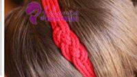 Aşk Düğümü Saç Bandı