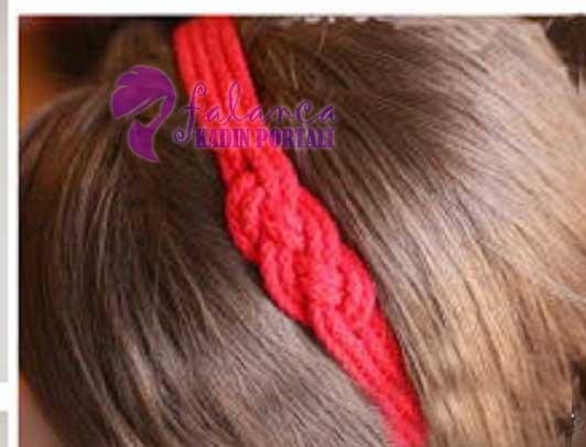 Aşk Düğümü Saç Bandı 2