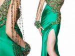 Bacak Dekolteli Abiye Elbise Modelleri 6
