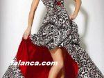 Bacak Dekolteli Abiye Elbise Modelleri 7