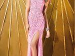 Bacak Dekolteli Elbise Abiye Modelleri Yeni 1