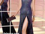 Bacak Dekolteli Elbise Abiye Modelleri Yeni 6