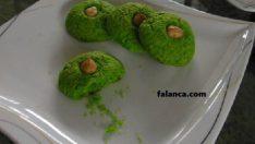 Bademli Yeşil Kurabiye
