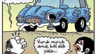 Bal Dök Yala Karikatür