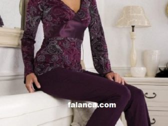 Bayan Kışlık Pijama Takımı Modelleri