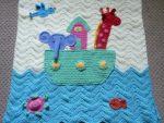 Erkek Bebek Battaniye Modelleri - 1
