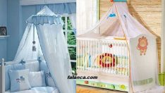 Bebek ve çocuk yatağına cibinlik nasıl takılır