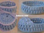 Tığ İşi Bebek Patik Modelleri 8