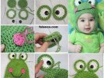Örgü bebek şapka modelleri ve yapılışı - 2