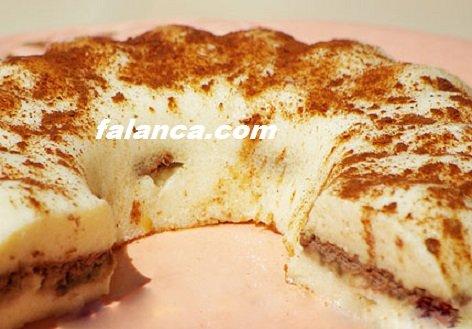 Sütlü Bisküvili İrmik Tatlısı