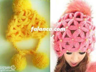 Ponponlu Yıldız Şapka 1