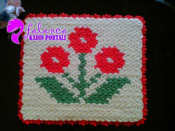 Çiçekli lif 1