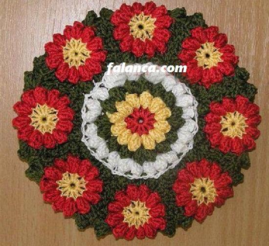Çiçekli Lif Yapılışı 1