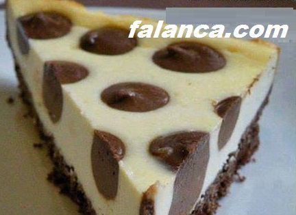 Çikolata Damlalı Cheesecake
