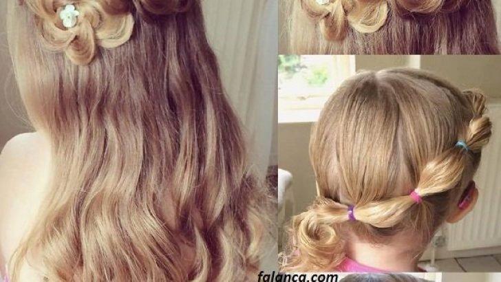 Kız Çocuk Düğün Saç Modelleri
