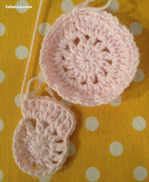 Katmerli Çiçekli Bebek Battaniyesi - 1