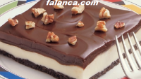 Dondurulmuş Çikolatalı Pasta