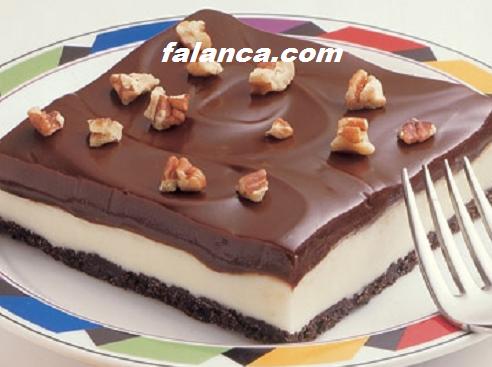 Dondurulmus Cikolatali Pasta