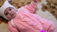 Düğmeli Bebek Tulumu Yapılışı