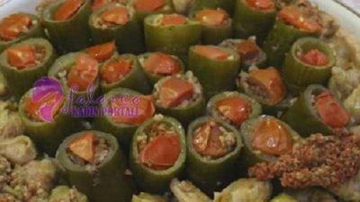 Ekşili Salatalık Dolması
