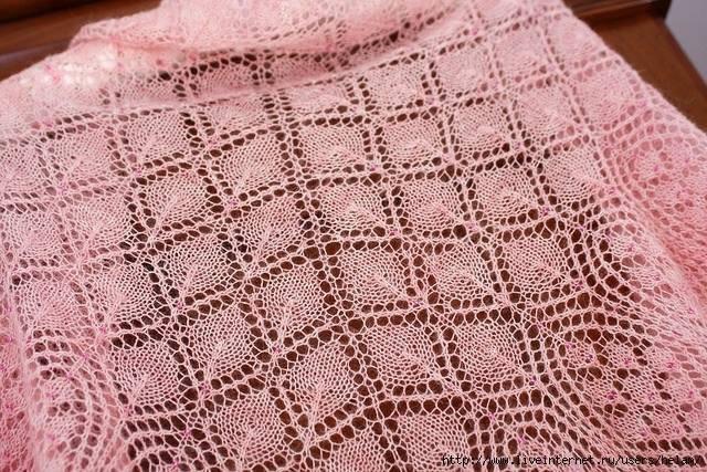 Prenses Şalı (ethereal triangular shawl ) 21