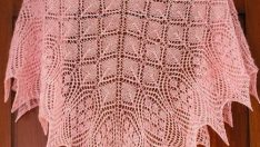 Prenses Şalı (ethereal triangular shawl )