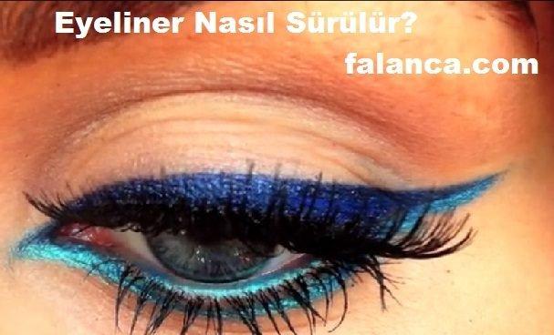 Eyeliner Nasıl Sürülür - 1