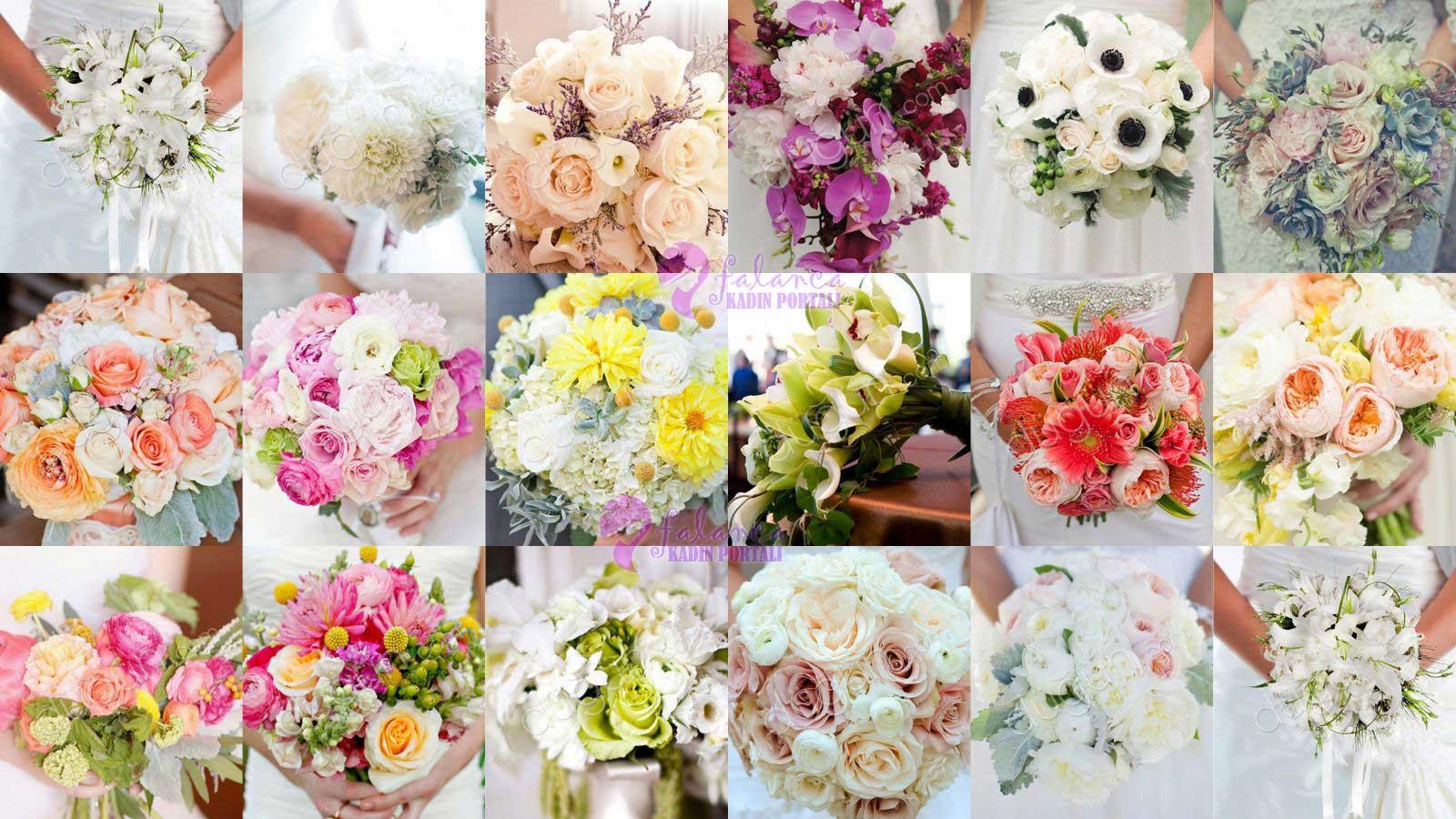 Gelin Çiçeği Modelleri - 2