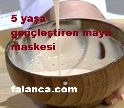 5 Yaş Gençleştiren Maya Maskesi
