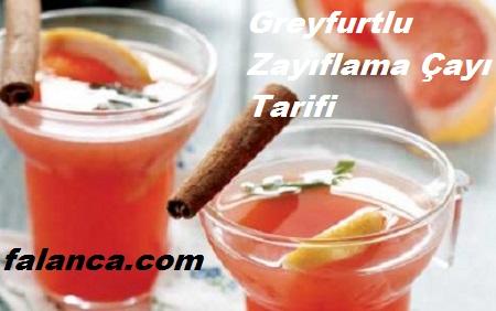 Greyfurtlu Zayiflama Cayi Tarifi