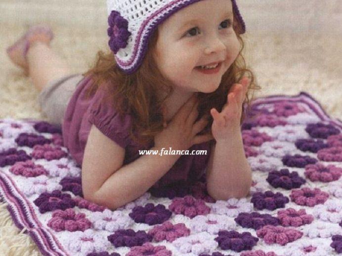 Çiçekli Battaniye Yapılışı
