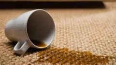 Halıdaki Çay Lekesi Nasıl Çıkar?