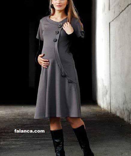Kışlık Hamile Giyim Modelleri
