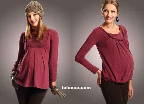 Hamile Kislik Giyim Modelleri 1