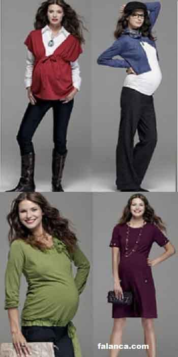 Hamile Kislik Giyim Modelleri 5