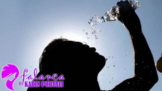 Hamilelere yaz dönemi için su uyarısı