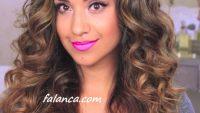 Maşa İle İri Dalgalı Saç Yapılışı Video