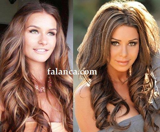 Işıltılı Saç Modelleri
