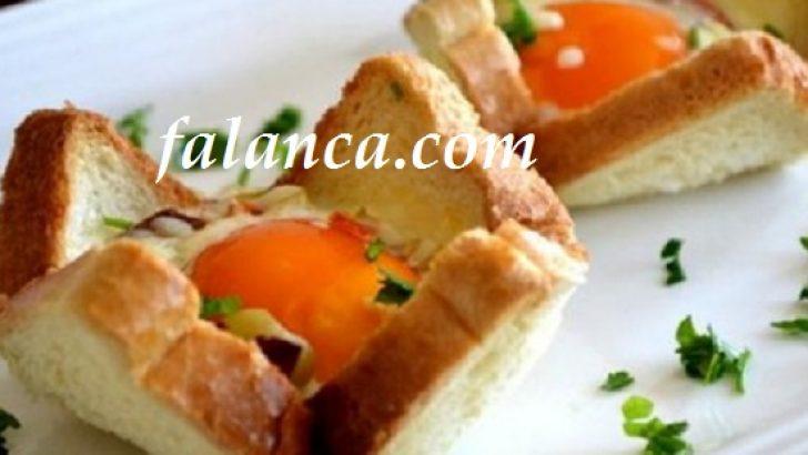 Ekmekte Yumurta Kahvaltılık