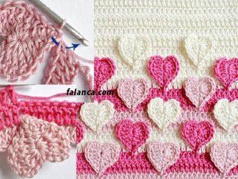 Kalp Bebek Battaniyesi Yapılışı