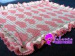 Tığ İşi Bebek Battaniye Modelleri - 8
