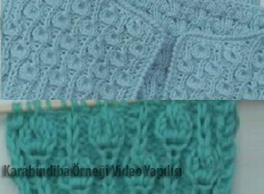 Karahindiba Örneği Yapılışı Video