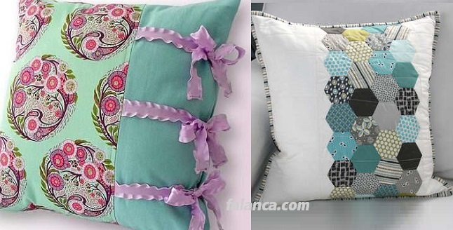 Yeni Kırk Yama Yastık Modelleri - 1
