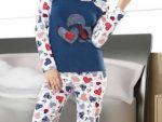 Kislik Bayan Pijama Takimlari 4