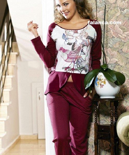 Bayan Kışlık Pijama Takımı 10