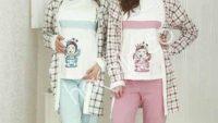 Kışlık Hamile Pijama Takımları