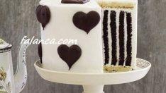 Kremalı Sevgililer Günü Pasta Yapılışı
