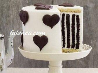 Kremalı Sevgililer Günü Pasta Yapılışı 1
