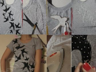 Kumaş boyama kalemi videolu kullanımı ve boyama modelleri