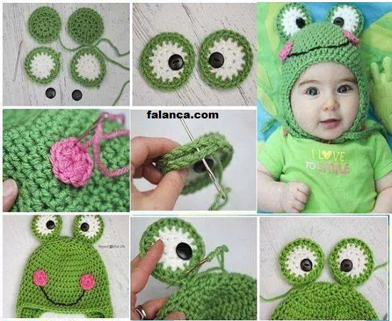 Değişik Bebek Şapka Modelleri - 13